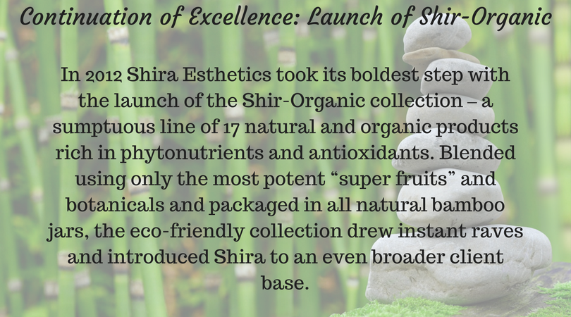Continuation of Excellence- Launch of Shir-Organic